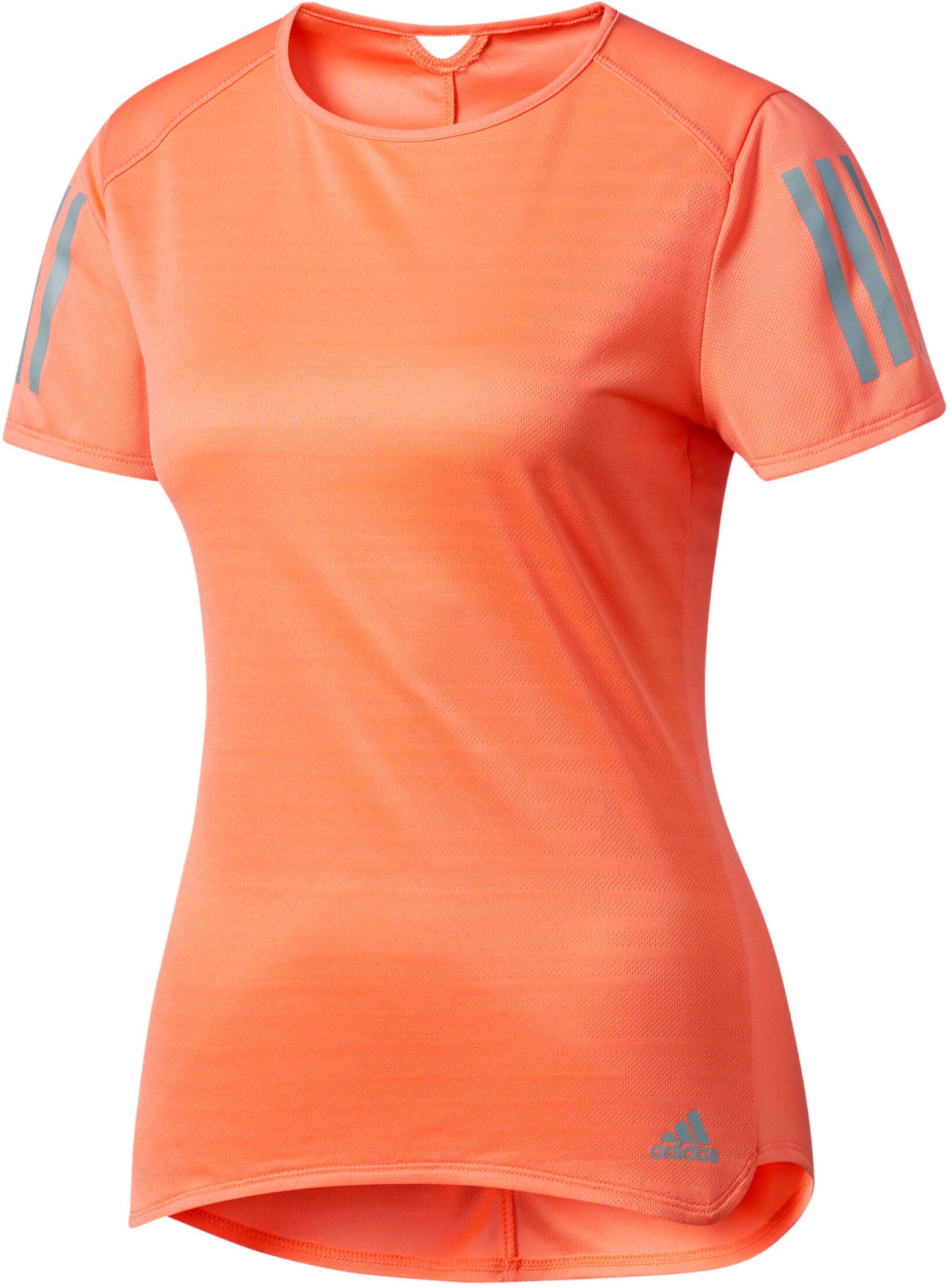 0e919bc206fa8 adidas Response - Camiseta Running Mujer - naranja